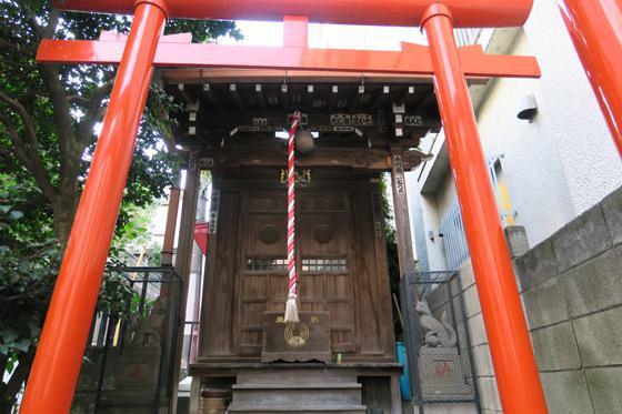 東京都繁栄稲荷神社の本殿