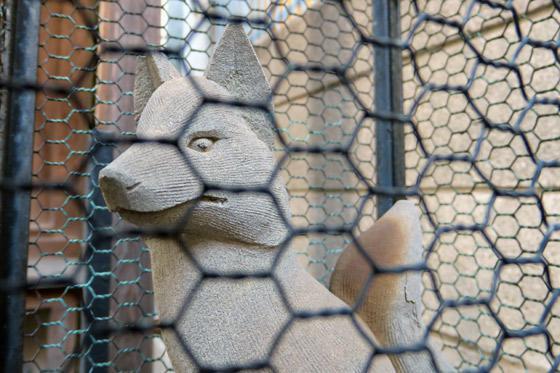 繁栄稲荷神社の狛犬