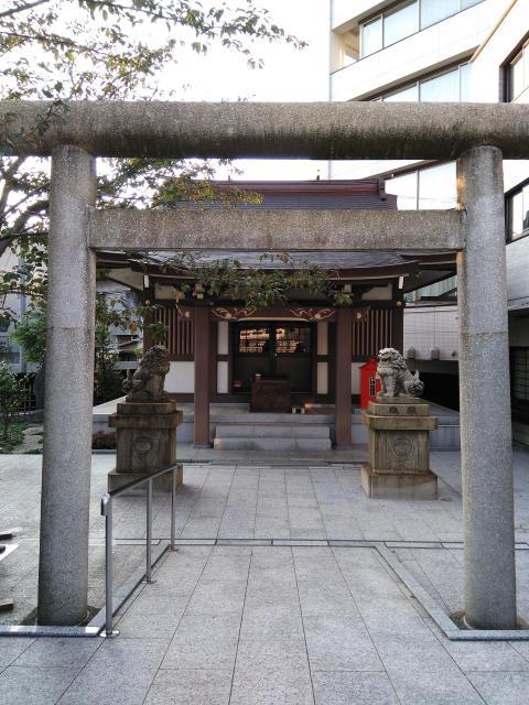 東京都大國神社の鳥居