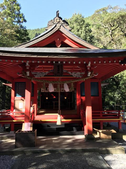 宮崎県椎葉厳島神社の本殿