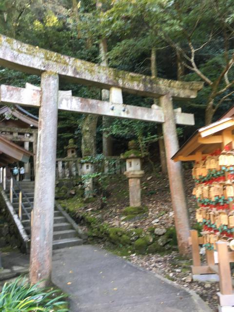 岐阜県黒龍社(伊奈波神社境内社)の鳥居