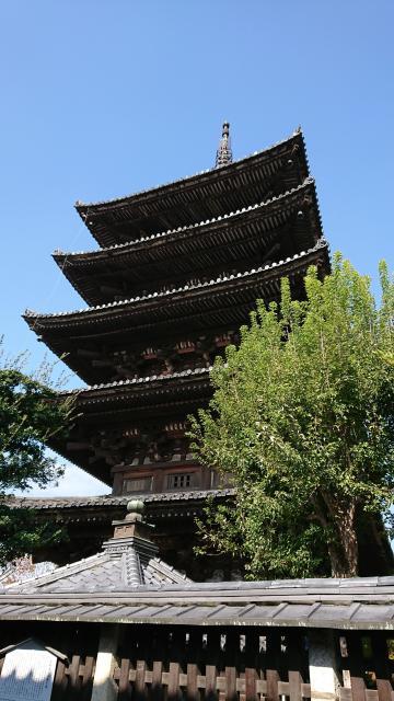 法観寺の塔