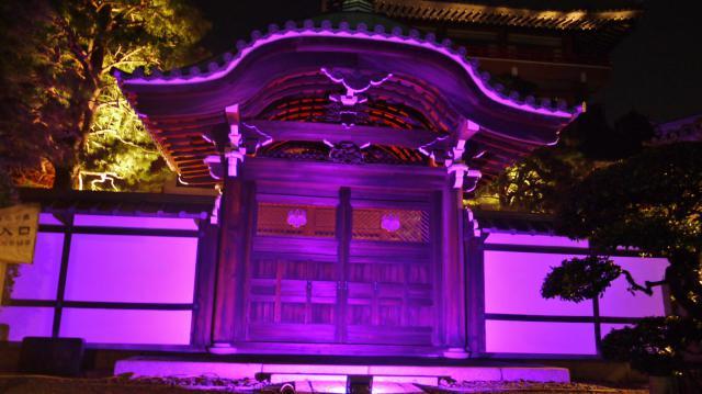 京都府本法寺の本殿