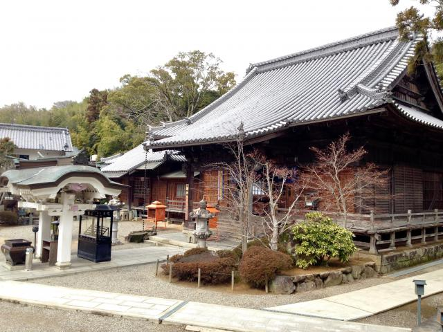 徳島県金泉寺の本殿