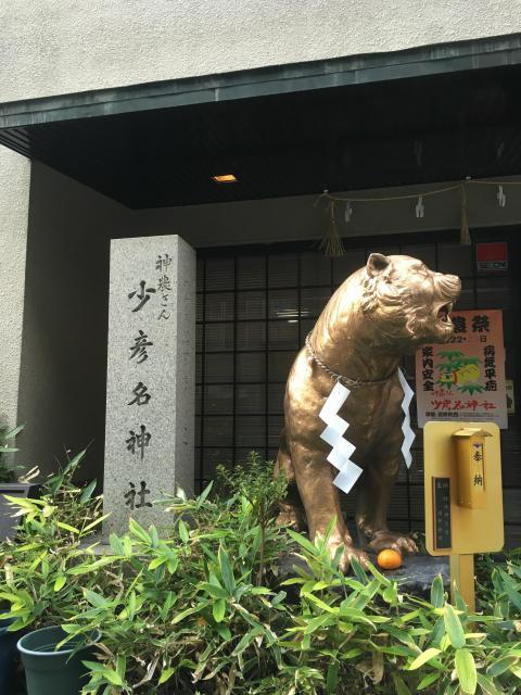 少彦名神社(大阪府北浜駅) - 狛犬の写真