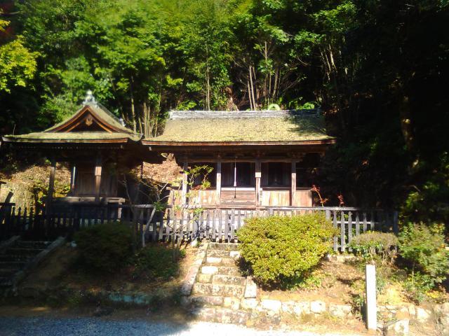 兵庫県一乗寺の本殿