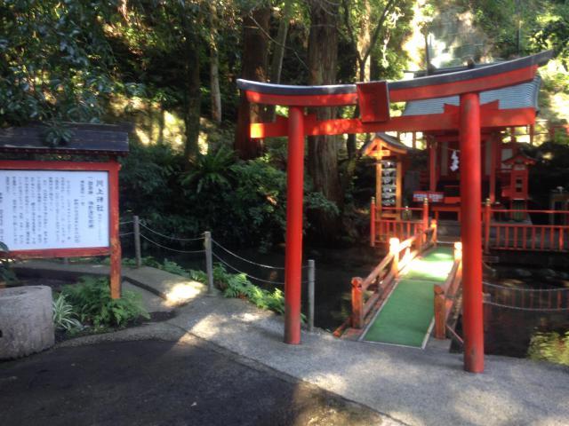 鹿児島県川上神社の鳥居