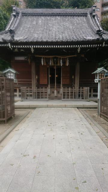 杉田八幡神社の本殿
