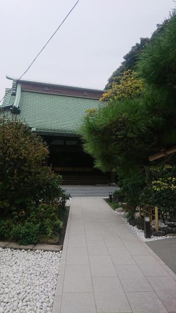 林香寺の本殿