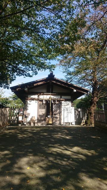 神奈川県中村八幡宮の建物その他