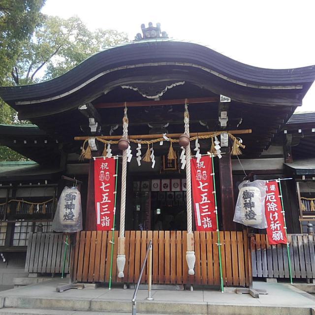 大阪府八王子神社の本殿