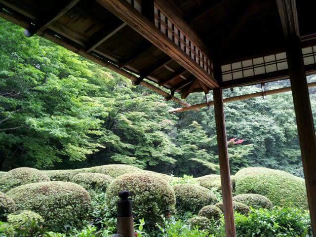 京都府詩仙堂(丈山寺)の庭園