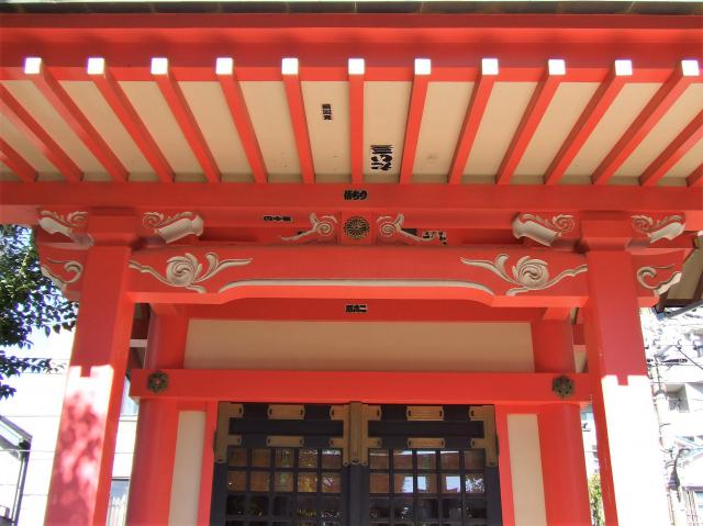 東京都摂社若宮牛嶋神社の本殿