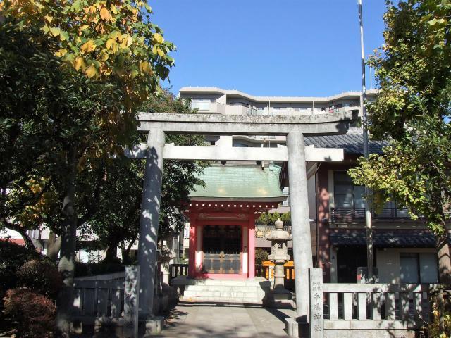 摂社若宮牛嶋神社の鳥居