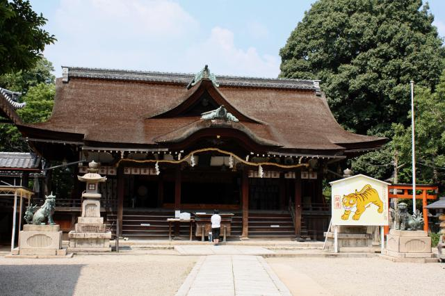 大阪府道明寺天満宮の本殿