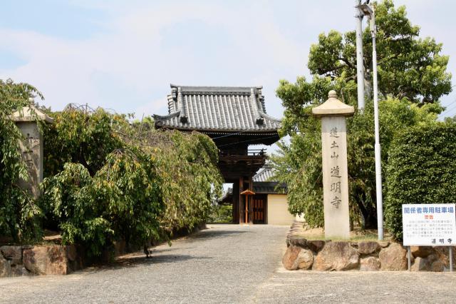 道明寺(大阪府土師ノ里駅) - 山門・神門の写真