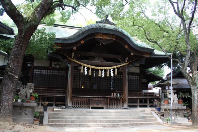 大阪府福島天満宮の本殿