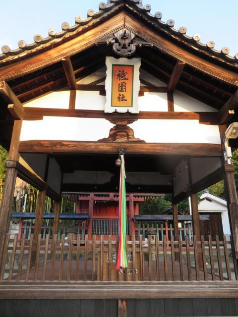 奈良県祇園社八坂神社の本殿
