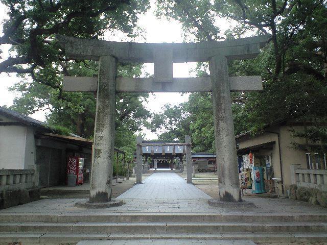 福岡県宇美八幡宮の鳥居