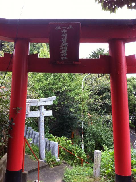 光雲神社(福岡県大濠公園駅) - 鳥居の写真