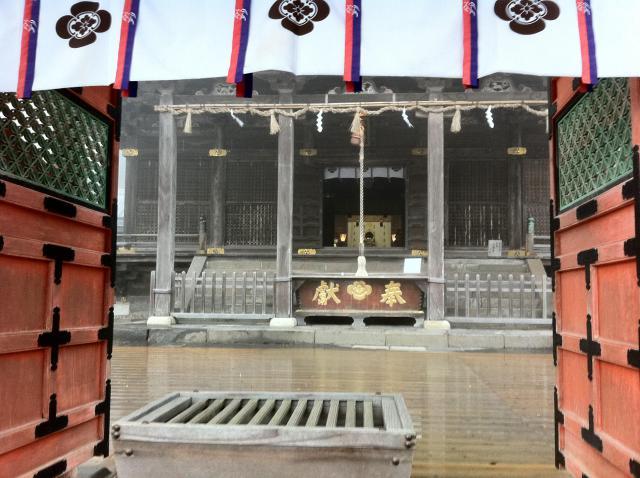 福岡県高良大社の本殿
