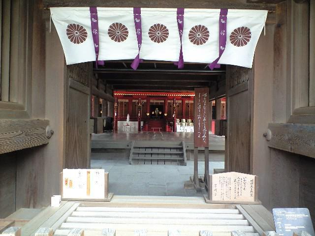 福岡県筥崎宮の本殿