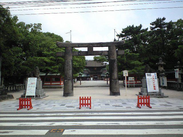 福岡県筥崎宮の鳥居