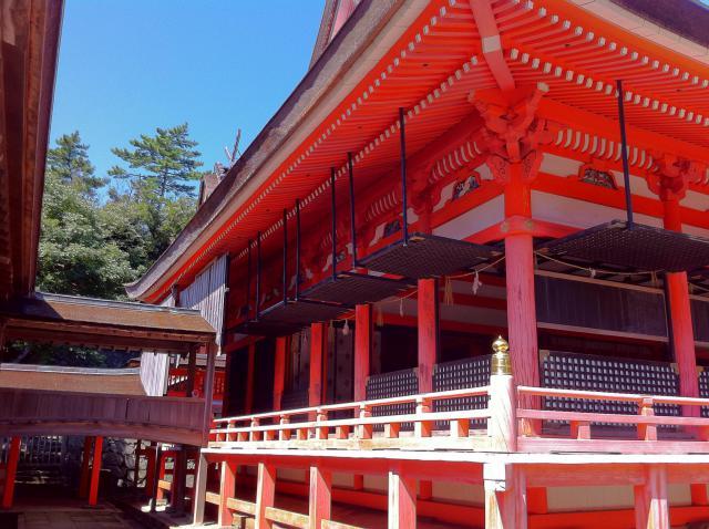 島根県日御碕神社の本殿