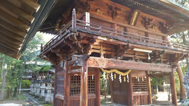 住吉神社(山梨県甲斐住吉駅) - 山門・神門の写真