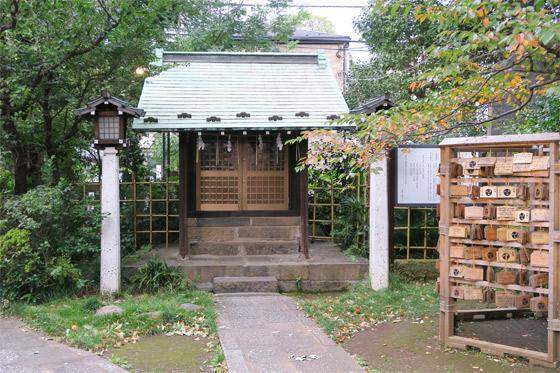 東京都下落合氷川神社の本殿