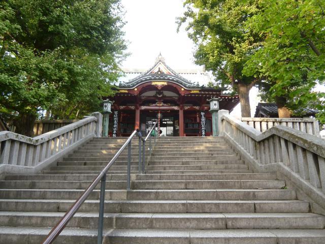 待乳山聖天(本龍院)の本殿