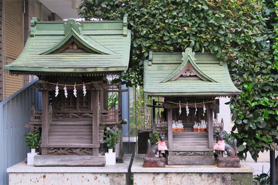 東京都簸川神社の写真