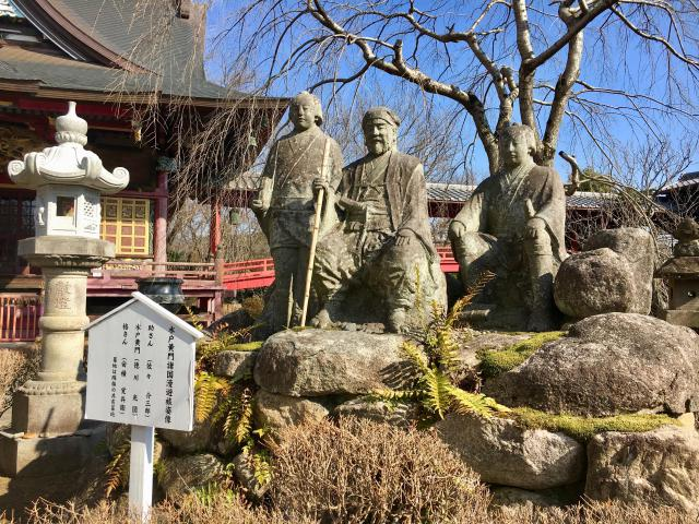二十三夜尊桂岸寺の像