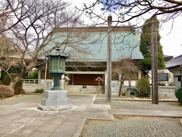 茨城県祇園寺の本殿