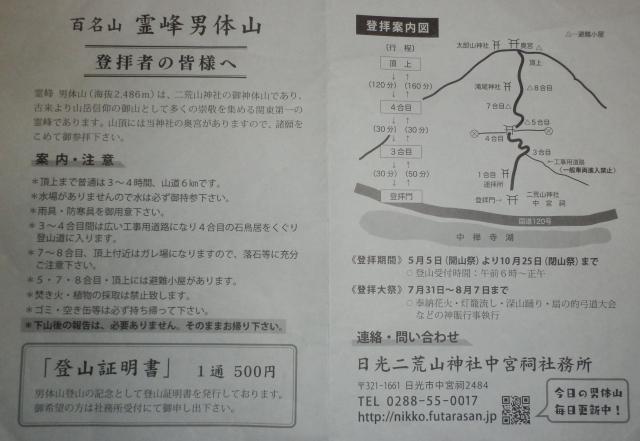 日光二荒山神社 (男体山奥宮)(栃木県)