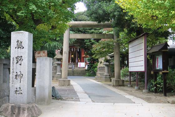 東京都青山熊野神社の建物その他