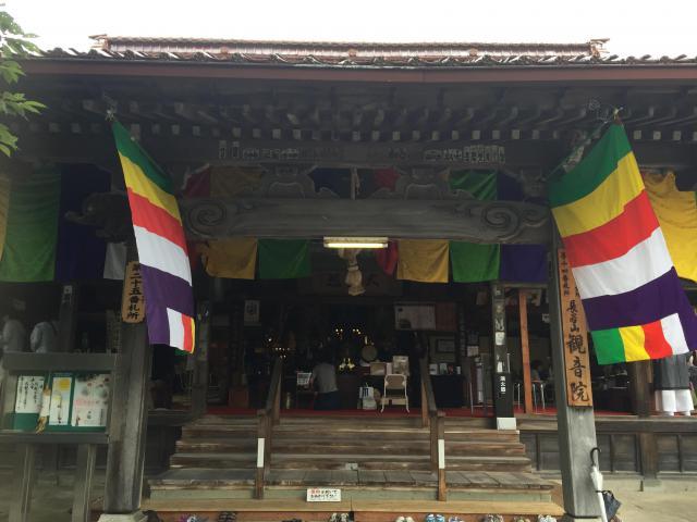 石川県観音院の本殿