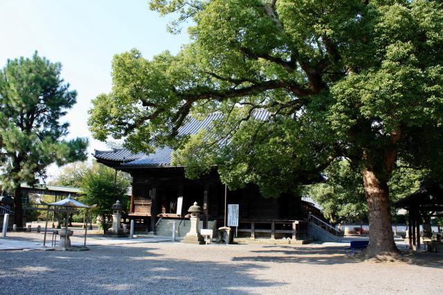 斑鳩寺の本殿