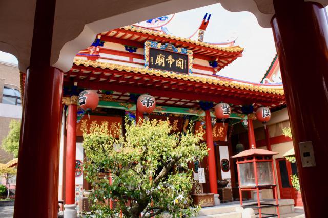 関帝廟の本殿