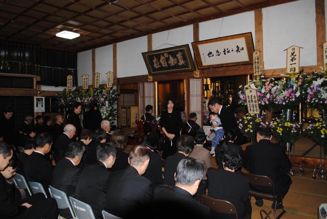 新潟県橘山 林正寺の本殿