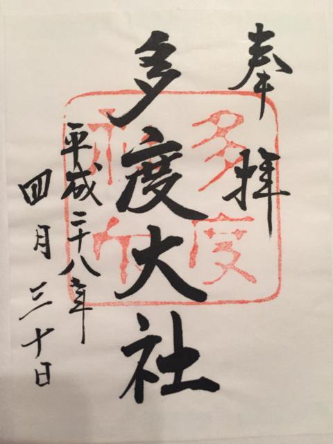 三重県多度神社の本殿