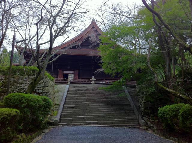 滋賀県園城寺(三井寺)の本殿
