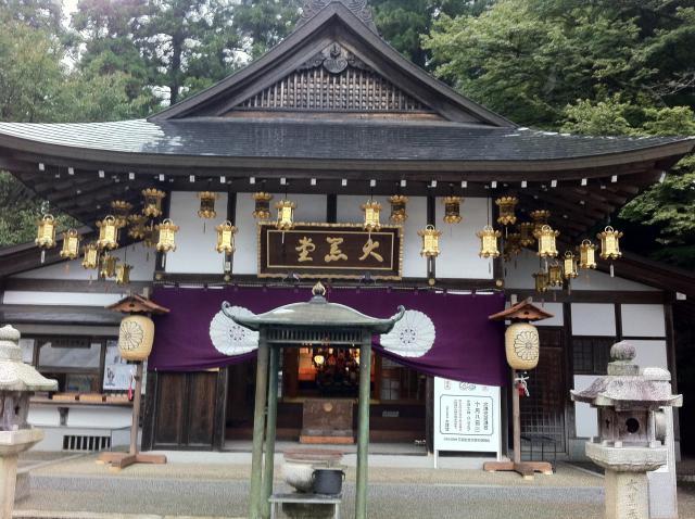 滋賀県比叡山延暦寺の本殿