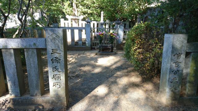 円光院のお墓
