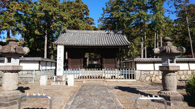 長禅寺の山門