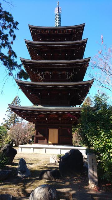 長禅寺の塔