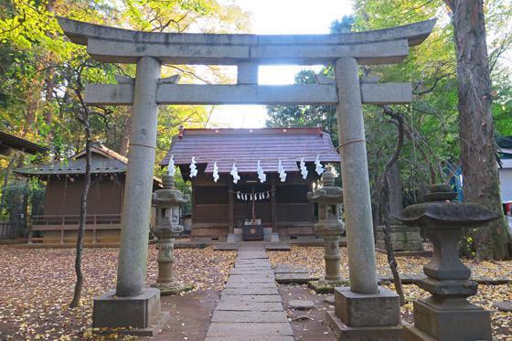 東京都柳窪天神社(黒目川天神社) の鳥居