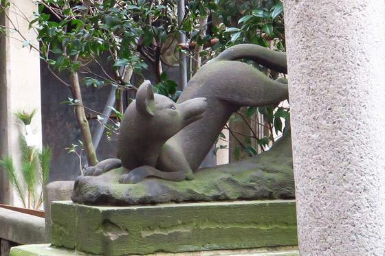 小野照崎神社の狛犬