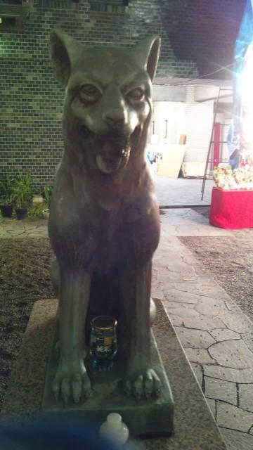 宮益御嶽神社の狛犬