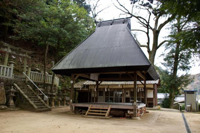 京都府南山城村天満宮(恋志谷神社)の本殿